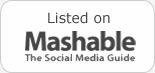 Listed in mashable